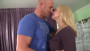 Sarah Vandella is fucking her step- father every once in a while, to amuse him