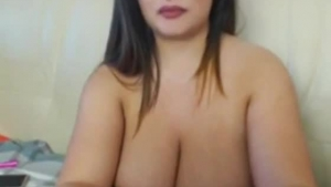 Big tits brown goddess gets used by a cussing stud
