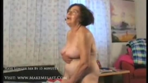 Yummy mature couple in action