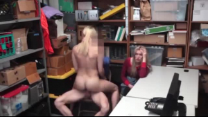 Horny black whore is offering her pussy and inviting her girlfriend to a steamy threesome